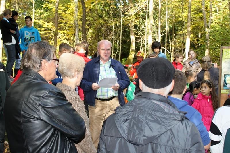 Bürgermeister Michael Balzer bei der Eröffnung