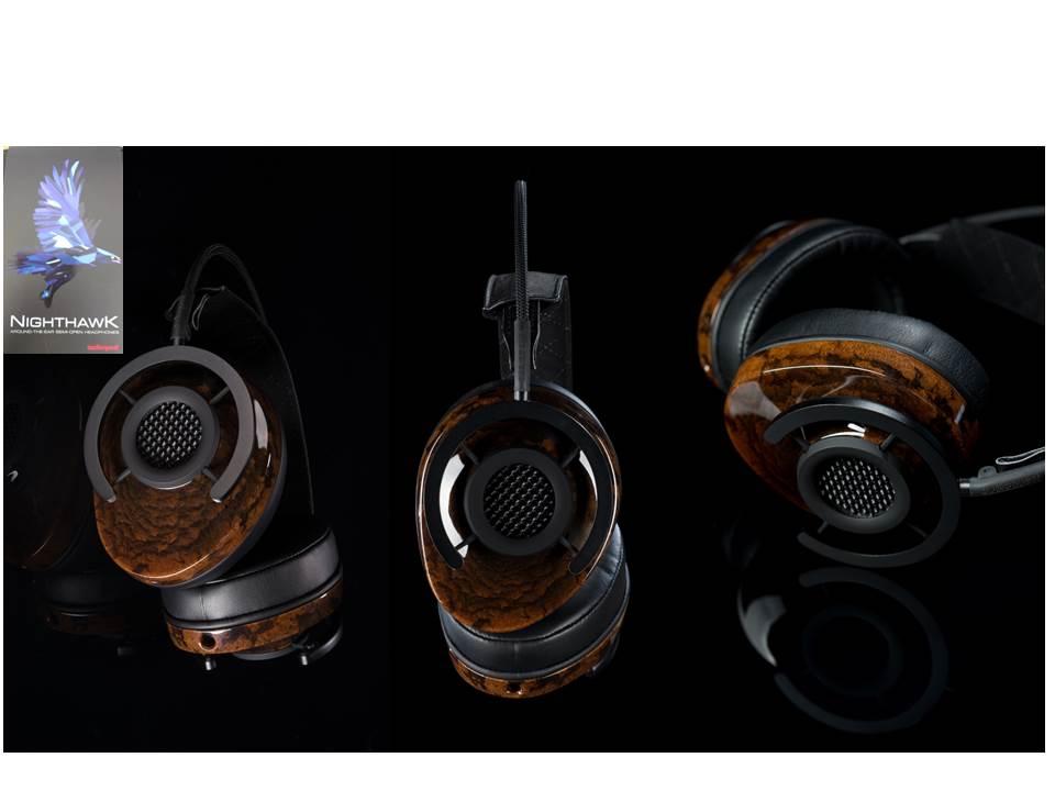 Nighthawk-Kopfhörer aus Arboform