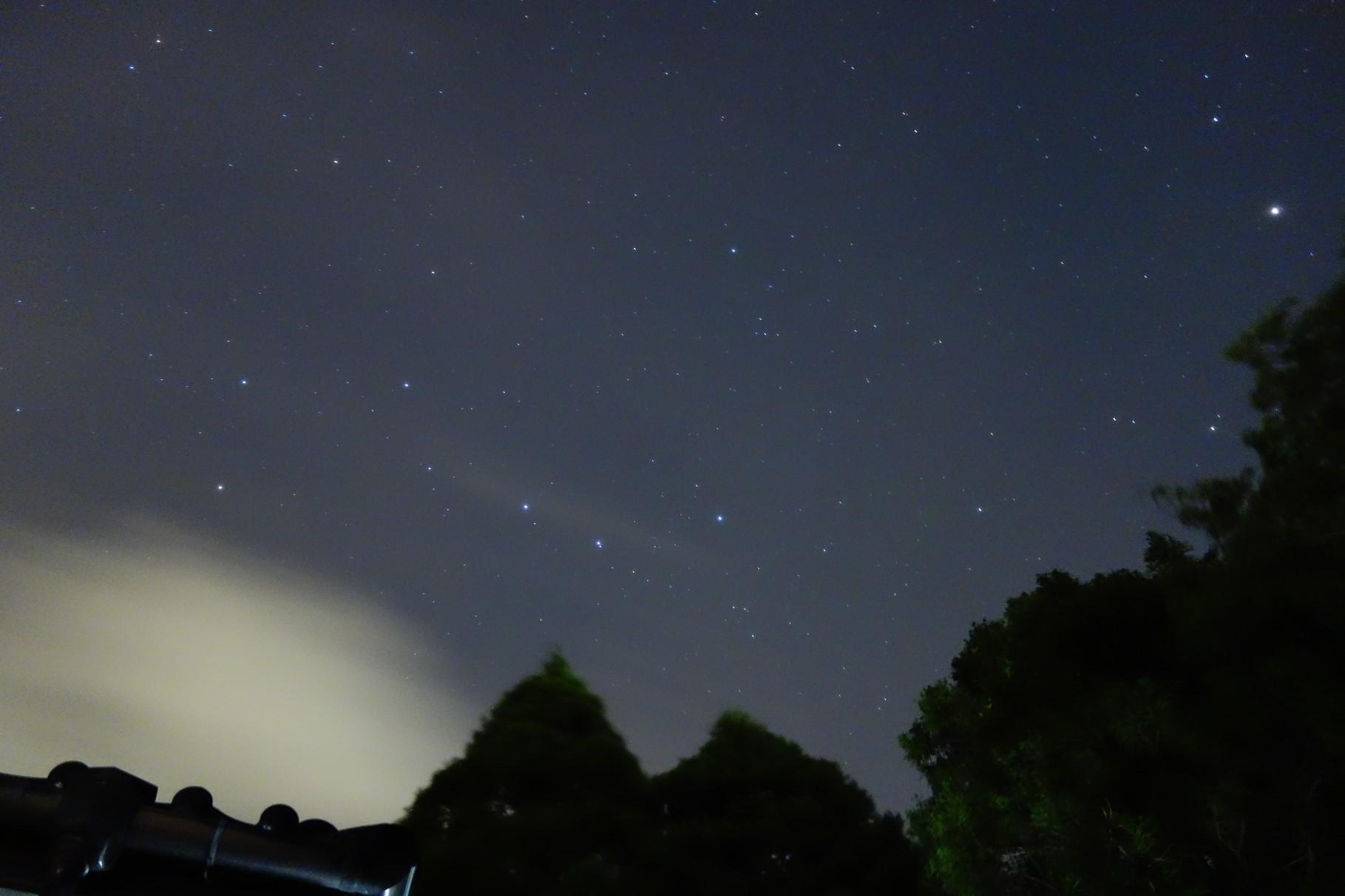 北斗七星 この時期一番綺麗に見える星座