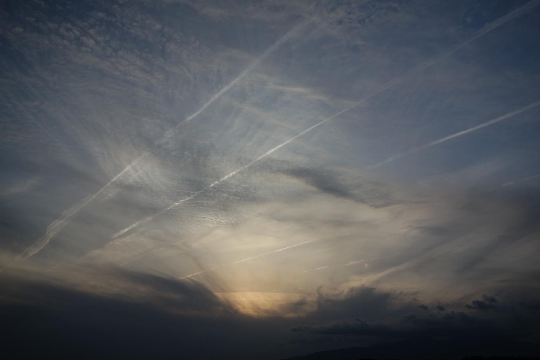 雲のオンパレード (ブルーver)