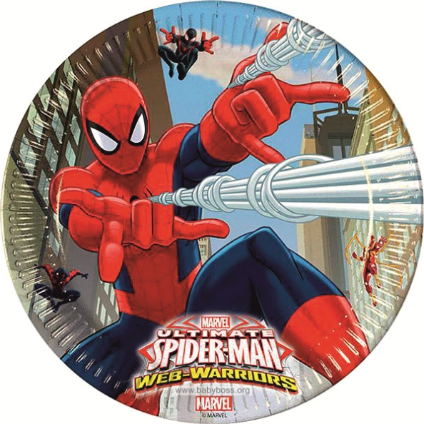 Набор для дня рождения Человек паук