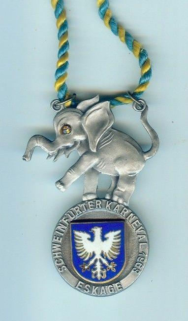 ESKAGE-Orden Schweinfurter Karneval 1963