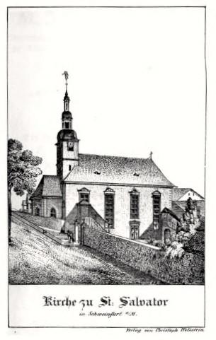 St. Salvator um 1800