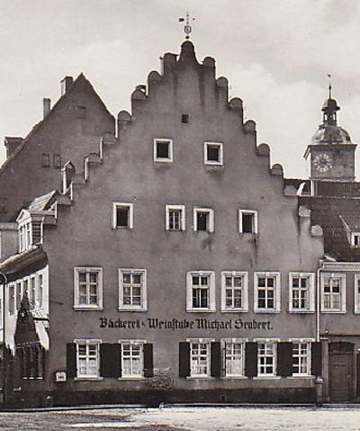 Obere Straße 21 - hier Ansicht zum Kornmarkt - 1908