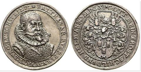 Medaille aus dem Jahre 1611
