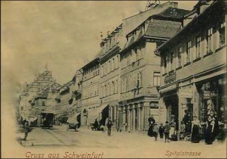 Spitalstraße Schweinfurt