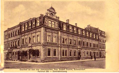 ca. 1912 - Besitzer Rudolf Damm