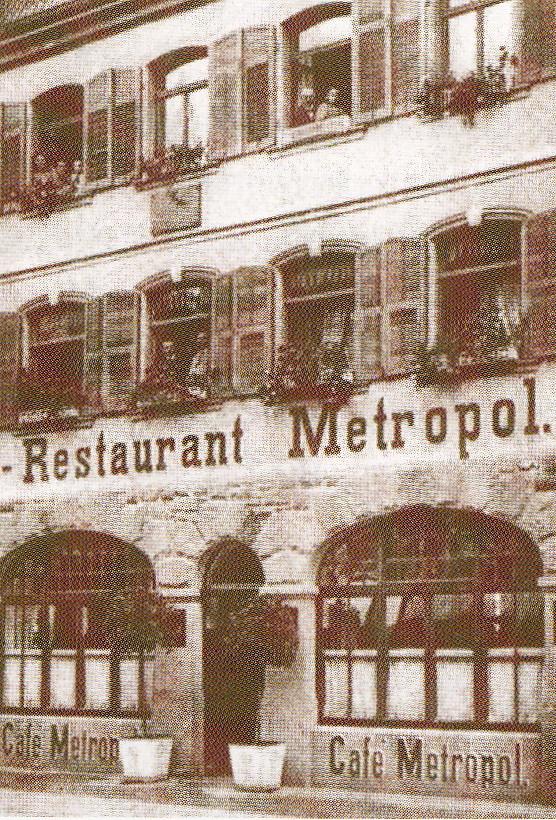 Cafe/Restaurant Metropol Spitalstr. 23
