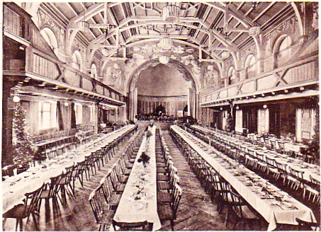 Der Festsaal des Saalbaus