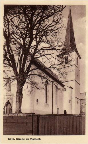 Kirche um 1960