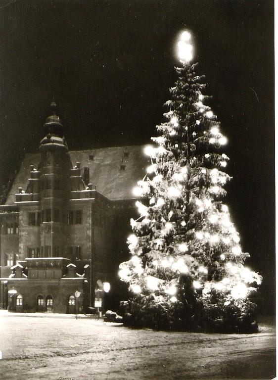 Weihnachten (um 1950?) Danke an Isolde Miller