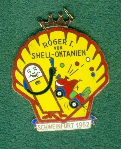 Schweinfurt 1962 Prinz Roger I. von Shell-Oktanien