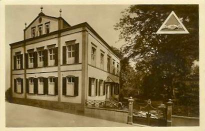 Freimaurerloge um 1925