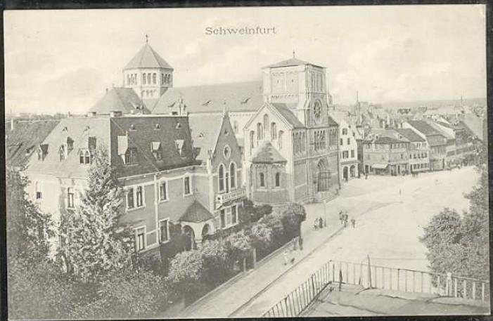 vor Vollendung des Turmes ca. 1902
