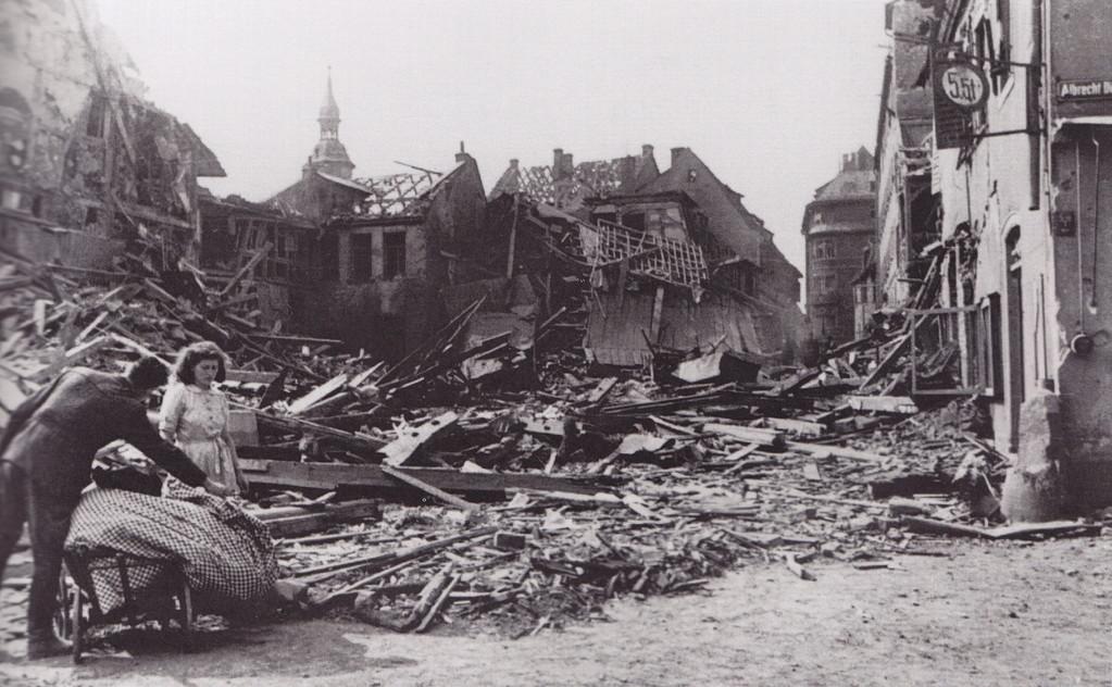 Der zerstörte Roßmarkt
