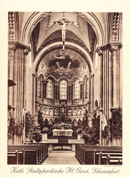 Das Erscheinungsbild des Chors im Jahr 1958