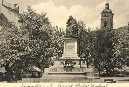 Rückertdenkmal 1931