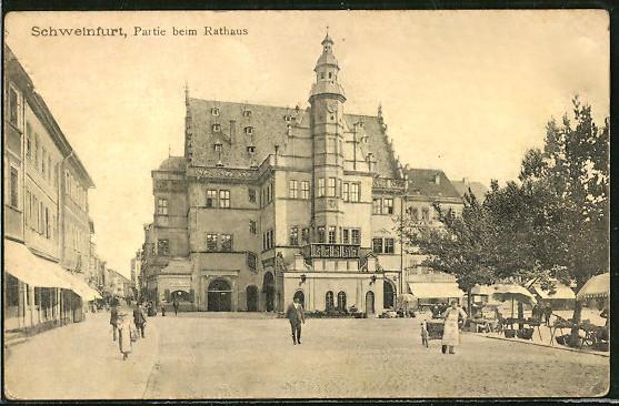 Rathaus 1918