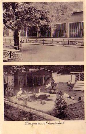 Schweinfurter Zoo 1938