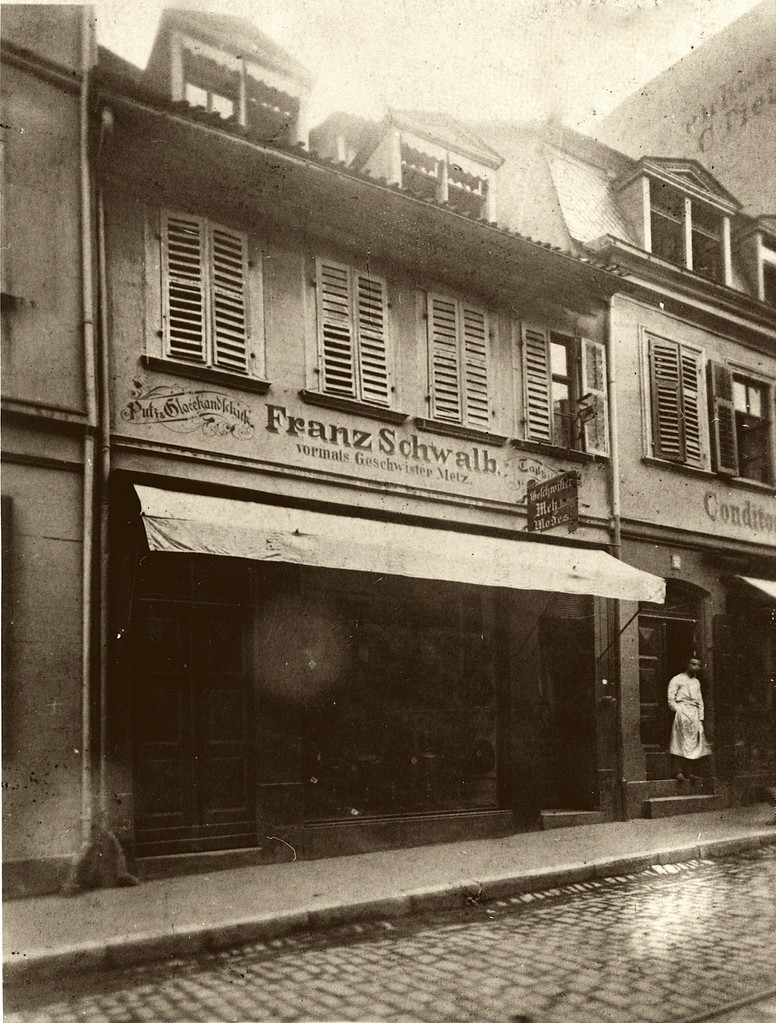 Spitalstraße 38 in den 1920ern (ca.)