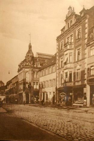 Spitalstraße ca. 1916