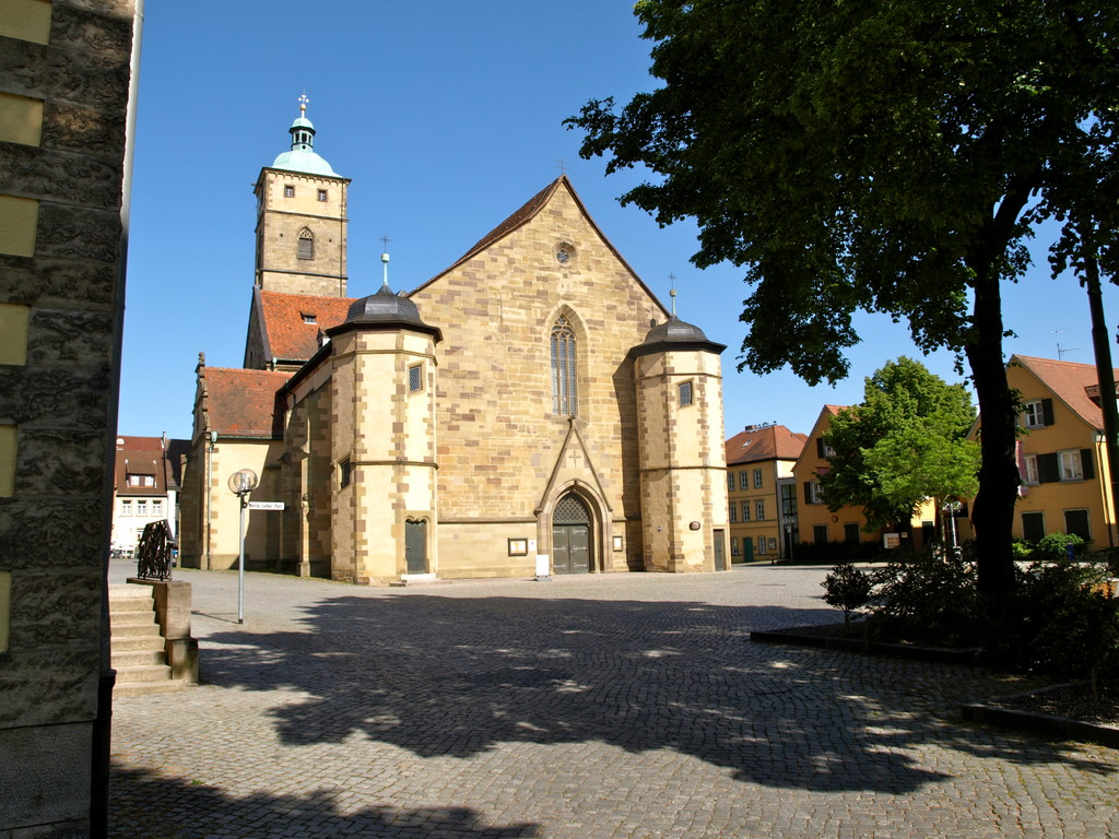 St. Johanniskirche am Martin-Luther-Platz
