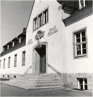 Hitlerjugend-Haus in der Wilhelmstraße (später DGB-Haus, heute Moschee)