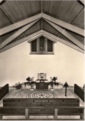 Evang. Kirche Zum guten Hirten ca. 1965
