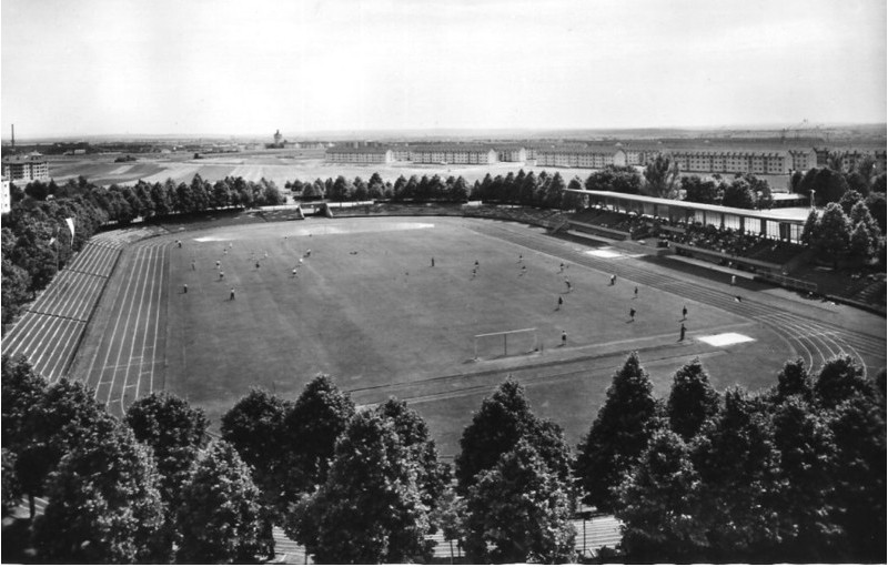 Willy-Sachs-Stadion in den 1950ern - Danke an Michael Kupfer