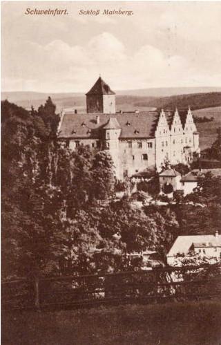 Schloss Mainberg um 1915