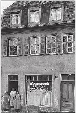 Bauerngasse 97 - Konsumverein Verkaufsstelle 5