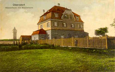 Um 1911 - mehr gab es damals dort nicht - sonst landwirtschaftliche Flächen
