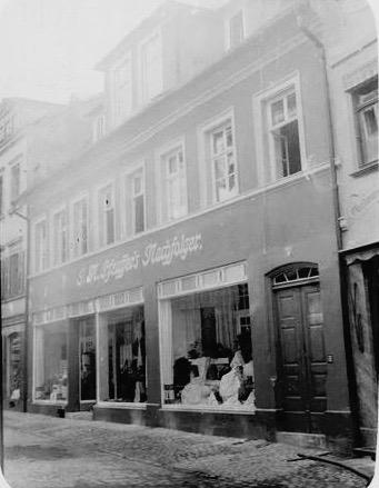 ca. 1908 - J.N. Pfeuffer's Nachfolger, Manufaktur- und Schnittwaren, Keßlergasse 9