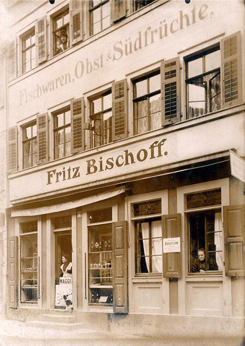 Lange Zehntstraße Nr.6 - Friedrich Bischoff (22.2.1847 - 19.01.1925) hatte hier ein  Feinkostgeschäft - Danke an Frau Eva Bischoff