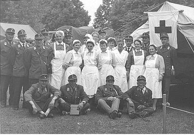 Der Sanitätsdienst bei den Deutschen Turnspielmeisterschaften in Schweinfurt (1961)