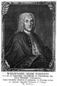 Wolfgang Adam Schoepff
