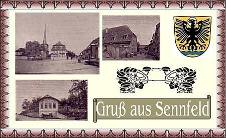 Sennfeld 1910 - Danke an Michl Kupfer