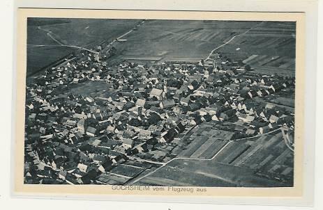 Luftbild Gochsheim 1935 - Danke an Michl Kupfer