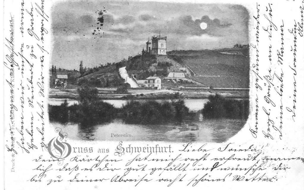 Peterstrin - Foto auf Postkarte 1899 - Danke Michael Kupfer