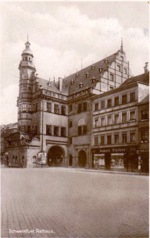 Rathaus ca. 1929
