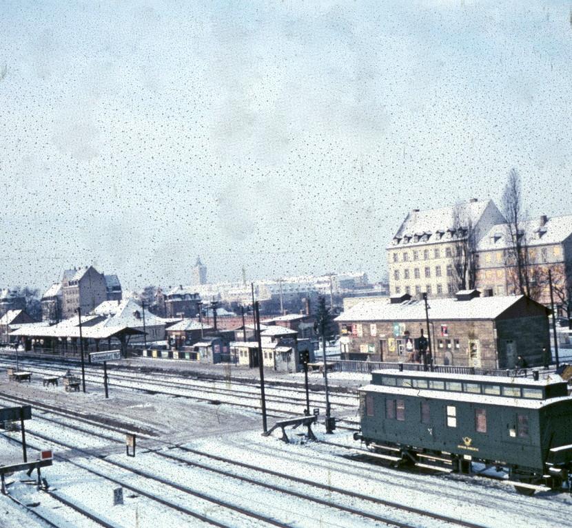 Hauptbahnhof Winter 1959