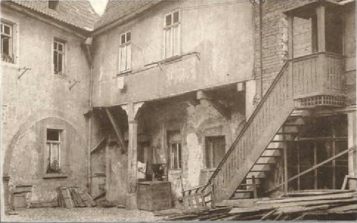 Metzgergasse Nr. 16 um 1930