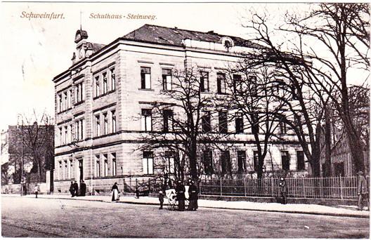 Schulhaus Steinweg (heute Schultesstraße)