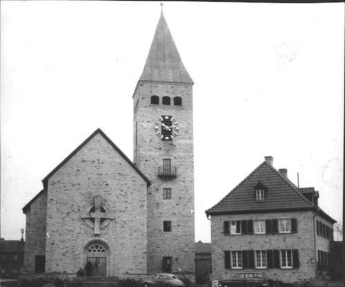 Kirche 1954 - Danke an Michl Kupfer
