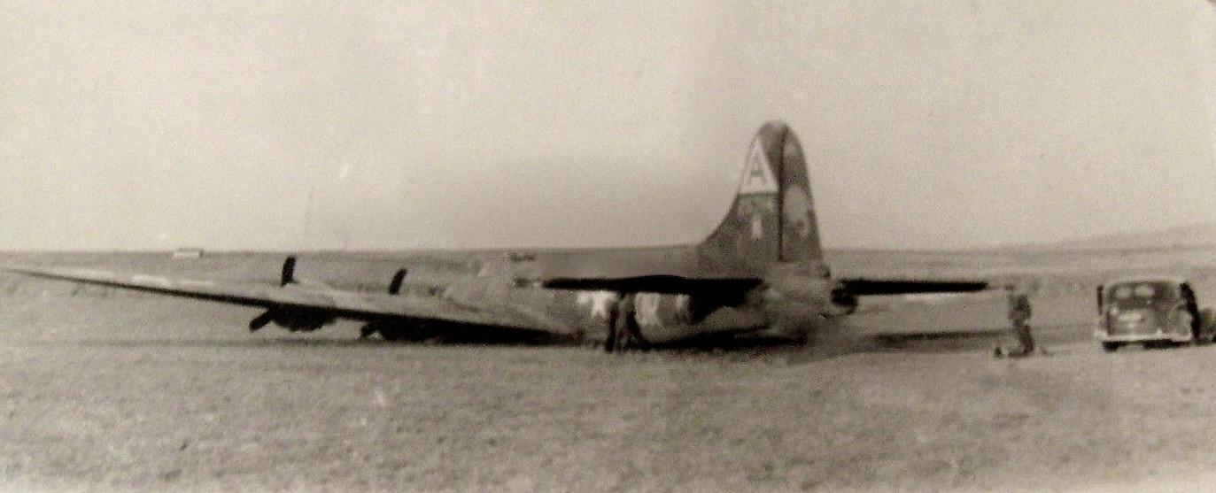 B-17 42-5714, Schweinfurt ; notgelandet oder abgeschossen; Oktober 1943