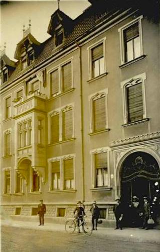Cramerstraße um 1910