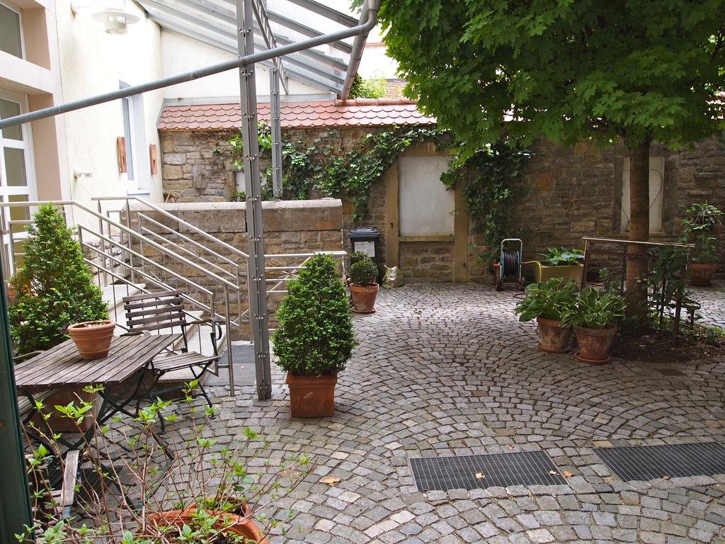 Hinterhof in der Judengasse 2012