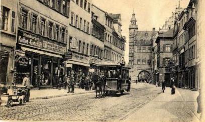 Spitalstraße um 1902
