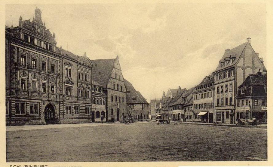 Roßmarkt vor dem 2 Weltkrieg