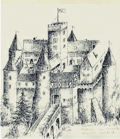 Zeichnung von Albrecht Ulrich